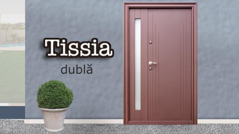 Usa metalica dubla Tissia