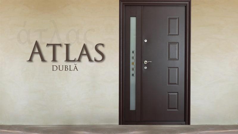 Usa metalica exterior Atlas Dubla - Usa metalica exterior Brasov