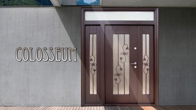 Usa metalica exterior Colosseum- Usa metalica exterior Brasov