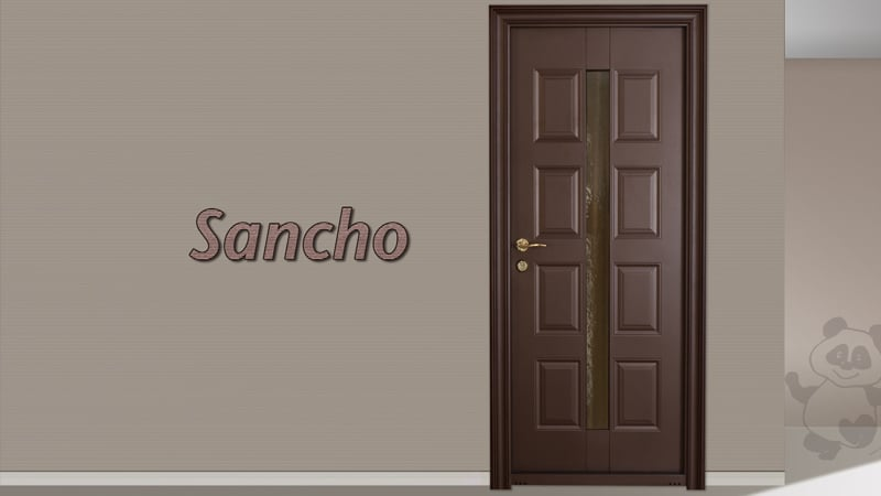 Usa metalica exterior Sancho - Usa metalica exterior Brasov