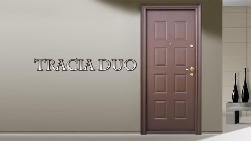 Usa metalica exterior Tracia Duo - Usa metalica exterior Brasov
